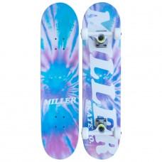 Tabla Skate Completa Miller Tie Die 8.0''