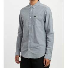 Camisa Manga Larga RVCA That'll Do Stretch Distant Blue