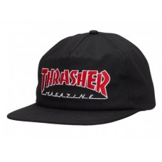 Gorra Thrasher Outlined Snapback Negra