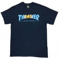 Camiseta Manga Corta Thrasher Argentina Azul
