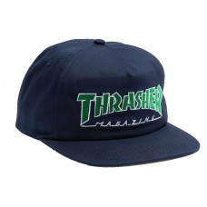 Gorra Thrasher Outlined Snapback Azul