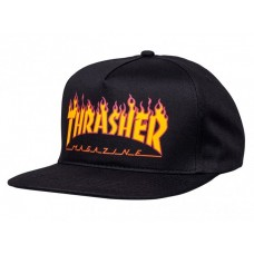 Gorra Thrasher Flame Negra
