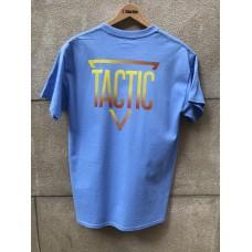Camiseta Tactic Triangle Azul Fuego
