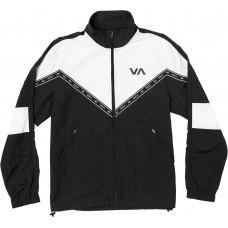 Chaqueta RVCA Control Negra Blanca