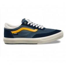 Zapatillas Vans Gilbert Croket Azul Amarillas