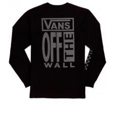 Camiseta Manga Larga Vans  Ave Ls Black