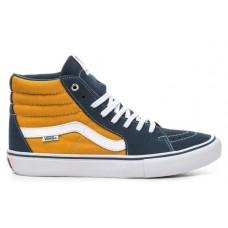 Zapatillas Vans SK8 Hi Azules Amarillas