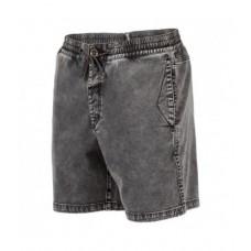 Pantalón Volcom Flare Short Gris Oscuro