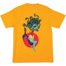 Camiseta Manga Corta Welcome Gorgon Amarilla