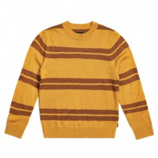 Jersey Brixton Wes Sweater Mostaza