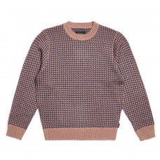 Jersey Brixton Wes Sweater Mauve