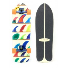 Surfskate Miller Wheels & Fins 32''