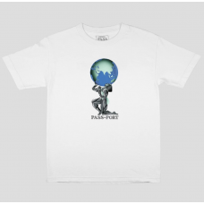 Camiseta Manga Corta Pass Port World Power Blanca