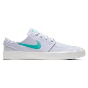 Zapatillas Nike Sb Zoom Janoski Canvas Rm Blancas Tropical