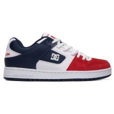 Zapatillas DC Manteca Blancas Rojas