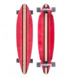 """Longboard Completo Globe Pinner 41.25"""" Rojo"""